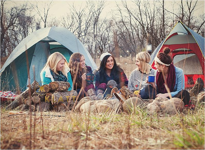 SENIOR MODELS MINNESOTA  |  Camping photoshoot  |  Class of 2015